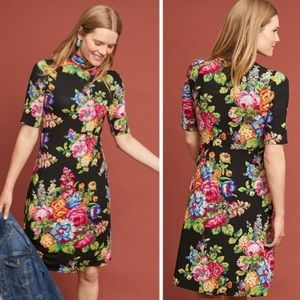 Anthropologie Ett:twa Coreyell Floral Midi Dress